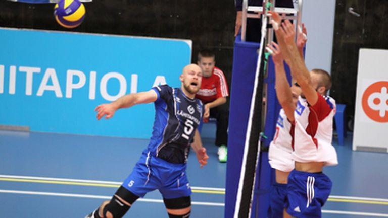 Чехия с трета поредна загуба от Финландия! Давид Конечни с 25 точки (снимки + статистика)