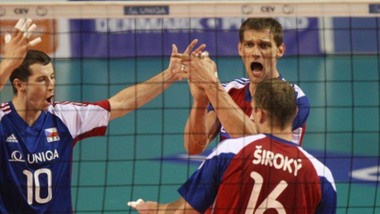 Стюард Бернард определи 14-те на Чехия за Евроволей 2013