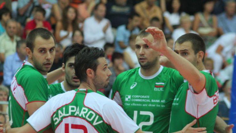 България с първа тренировка в Гдиня
