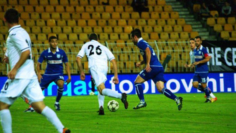 Дузпа в последните минути спаси Черноморец срещу Славия - Курдов отново с гол