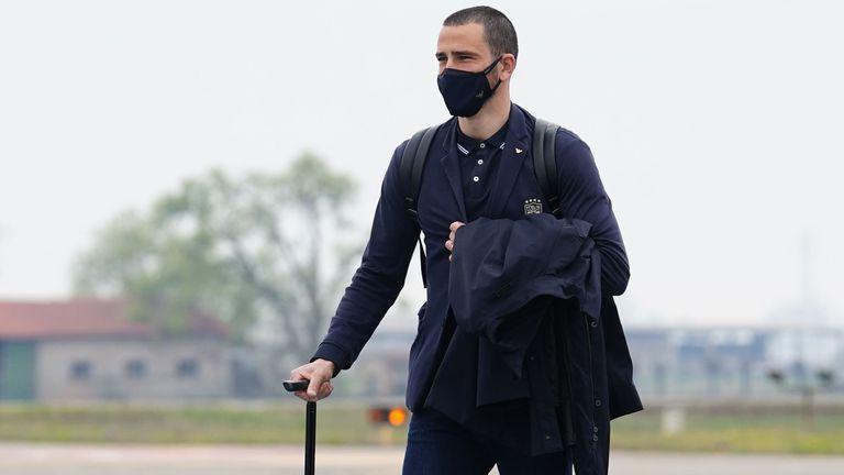 Италия пристигна в София