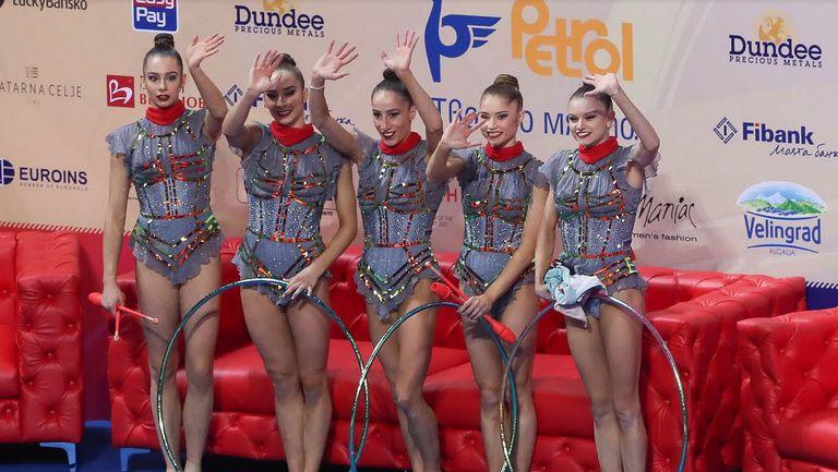 Ансамбълът на България спечели титлата в многобоя на Световната купа в София