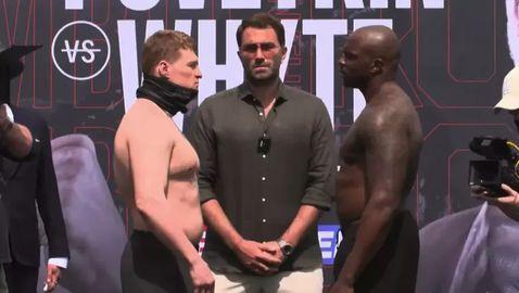 Дилиън Уайт е с 8 килограма по-тежък от Поветкин
