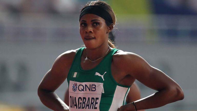 Окагбаре с победа на 100 метра, седмо място за Алисън Филикс