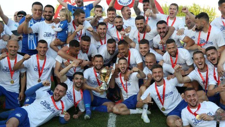 Теута спечели титлата в Албания