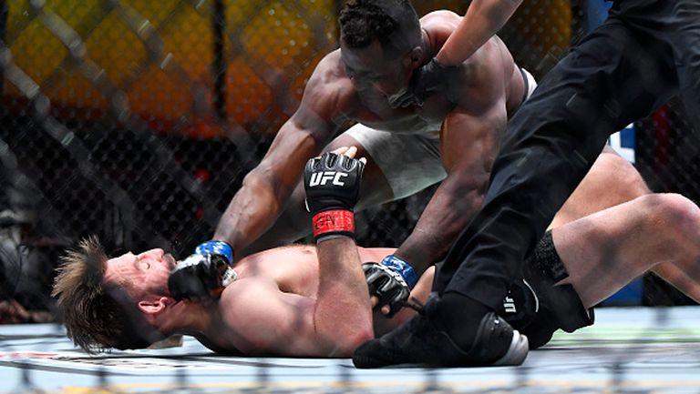 Нгану помете Миочич и стана новият шампион в тежка категория на UFC