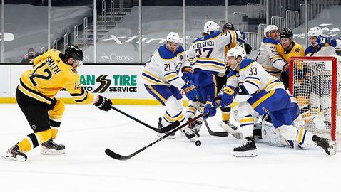 Бостън удължи негативната серия на Бъфало в НХЛ