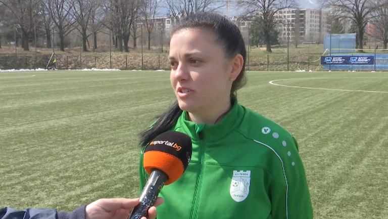 Йоанна Джамбазова: НСА е най-добрият отбор в България и бе логично да загубим