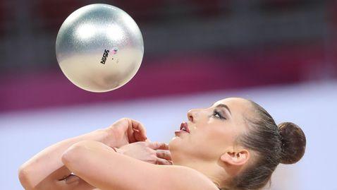 Катрин Тасева в първия си финал за деня
