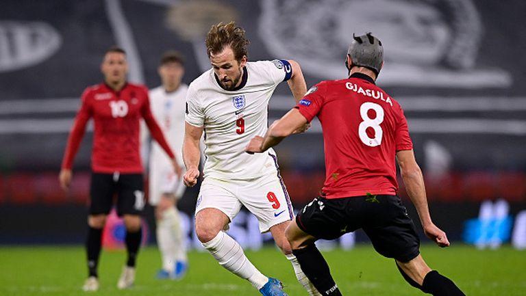 Албания - Англия 0:2