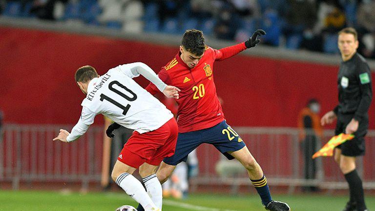 Грузия - Испания 1:2