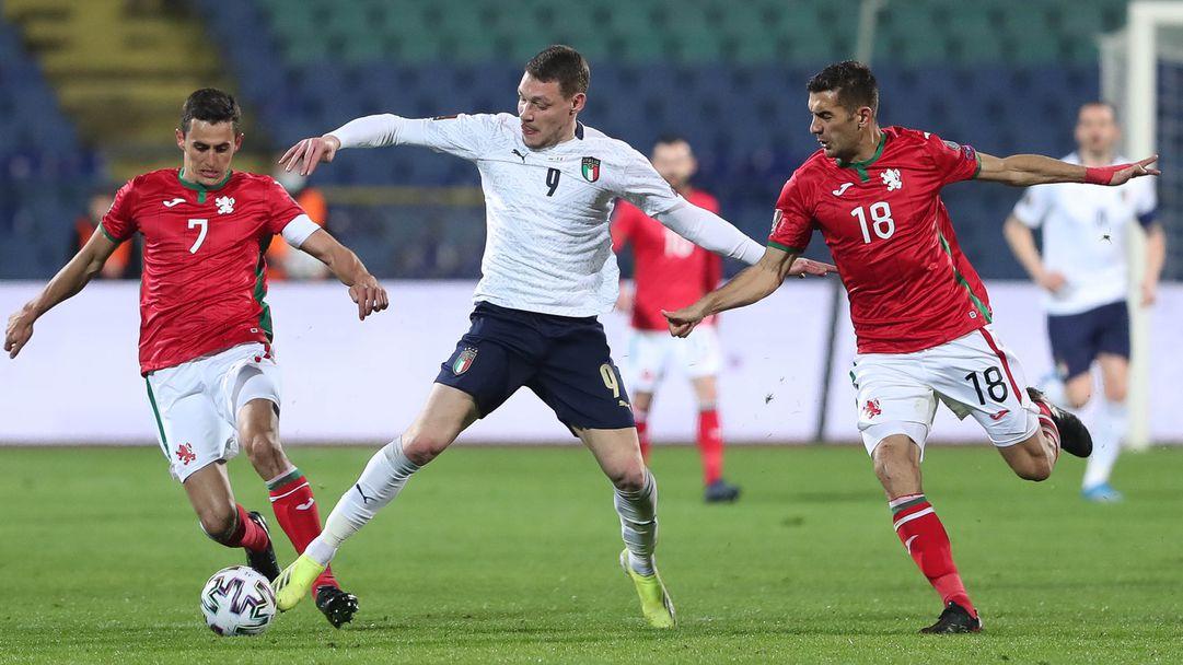 България - Италия 0:2