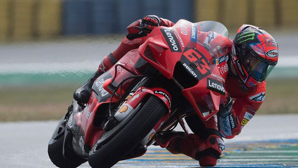 Франческо Баная с най-добро време след втората тренировка преди Гран При на Италия