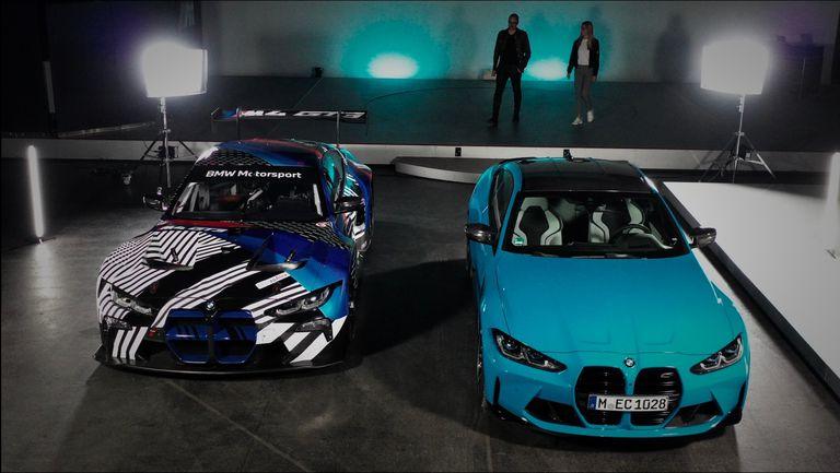 BMW M4 среща BMW M4 GT3