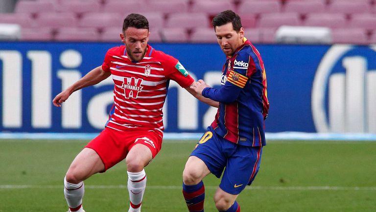 """Барселона допусна обрат и загуби от Гранада с 1:2 на """"Камп ноу"""""""