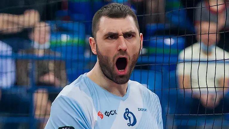 Трансферът на Цветан Соколов в Динамо бе обявен за №1 в Русия🏐