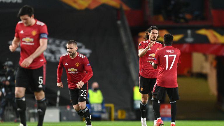 Рома ядоса Манчестър Юнайтед и след почивката стана страшно (видео + галерия)