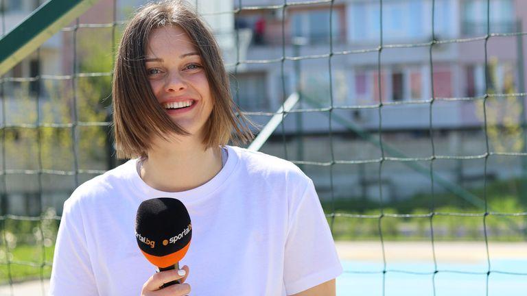 Борислава Христова пред Sportal.bg: Все още не приемам баскетбола като професия (видео)