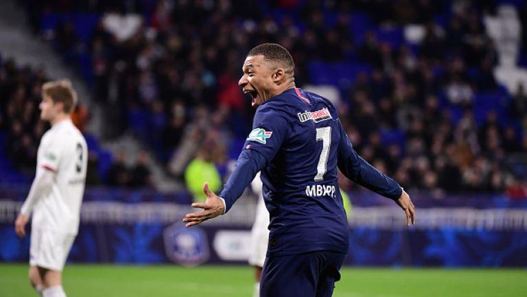 Мбапе и компания разбиха Лион на полуфиналите за Купата на Франция