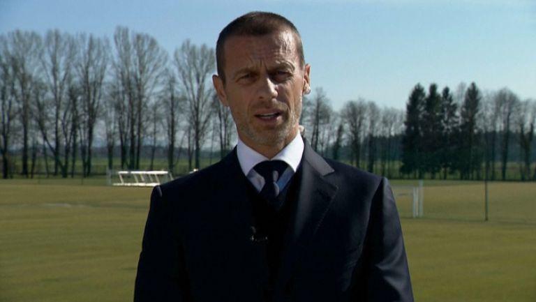 Президентът на УЕФА Александър Чеферин потвърди отлагането на ЕВРО 2020