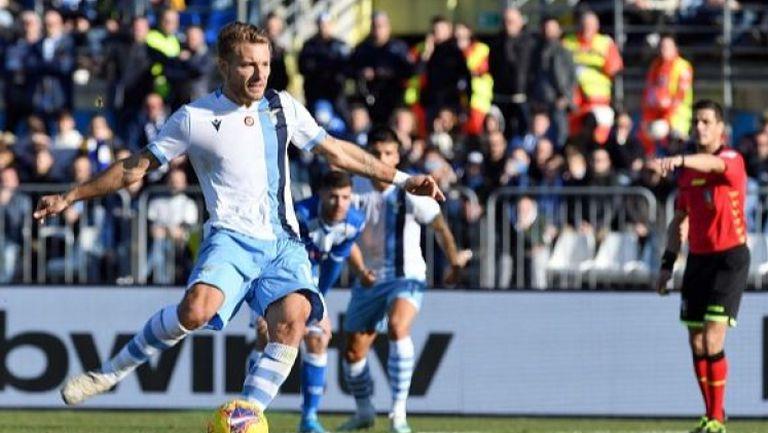 Лацио с девета поредна победа, Балотели с историческо постижение