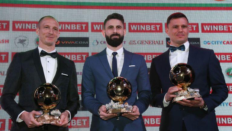 Димитър Илиев е футболист на годината