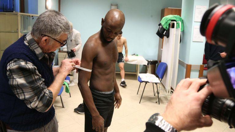 Лудогорци минават медицински тестове на Царско село