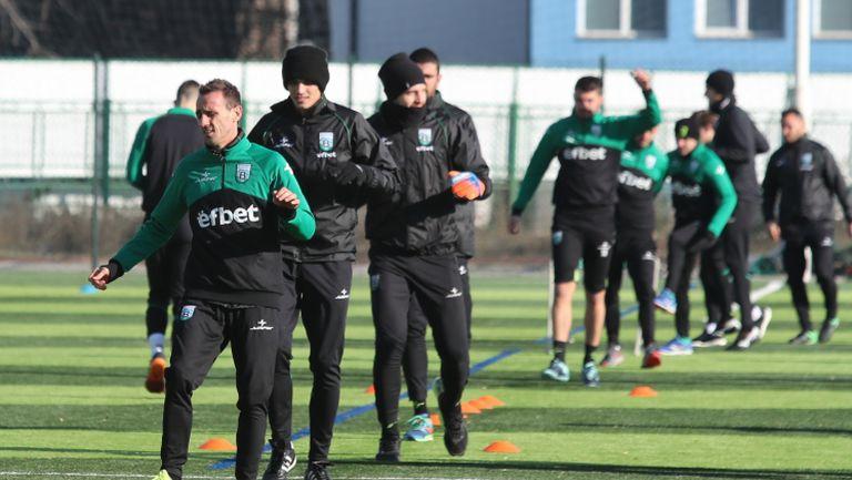 Витоша Бистрица стартира зимна подготовка с петима нови футболисти и нов треньор