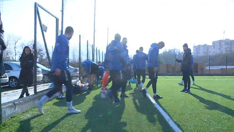 Левски с открита тренировка в Сандански