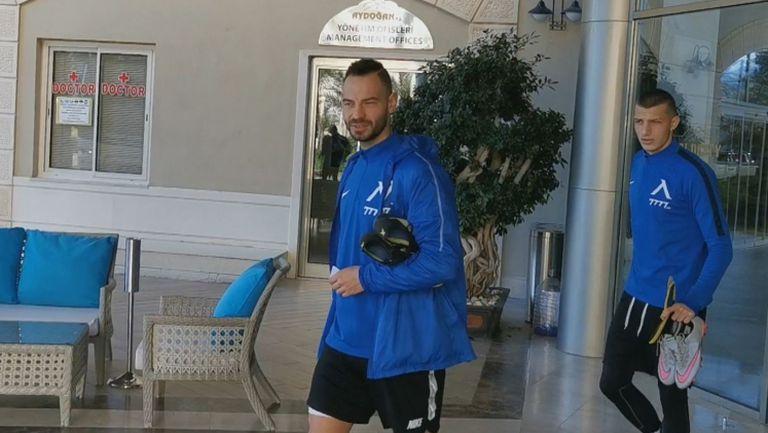 Хубчев закри тренировката на Левски