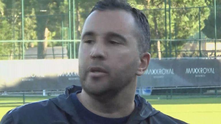 Левон Апкарян с коментар след победата на Левски над Рапид (Виена)