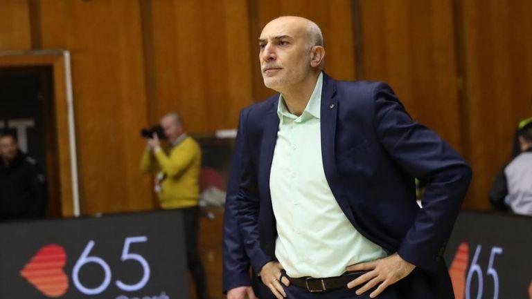 Минчев: Левски ни превъзхождаха, абсолютно заслужено ни победиха