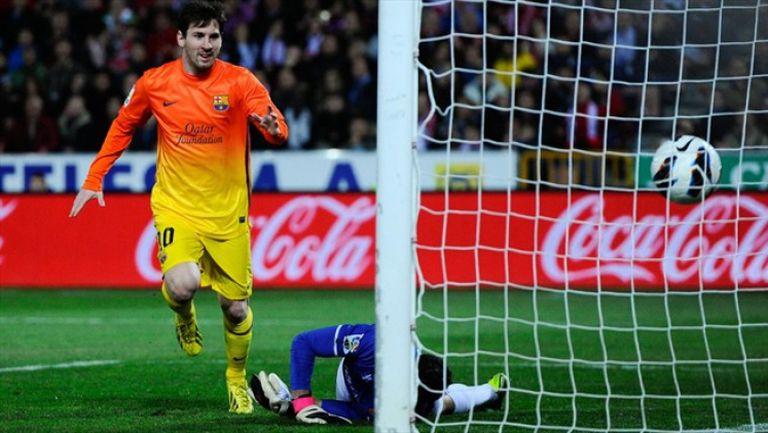 На този ден - Меси с гол №300 за Барселона