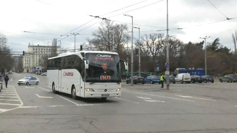"""""""Армейците"""" вече са на Националния стадион за дербито с Левски"""