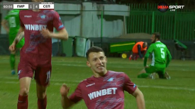 4:1 за Септември след гол на Георги Русев