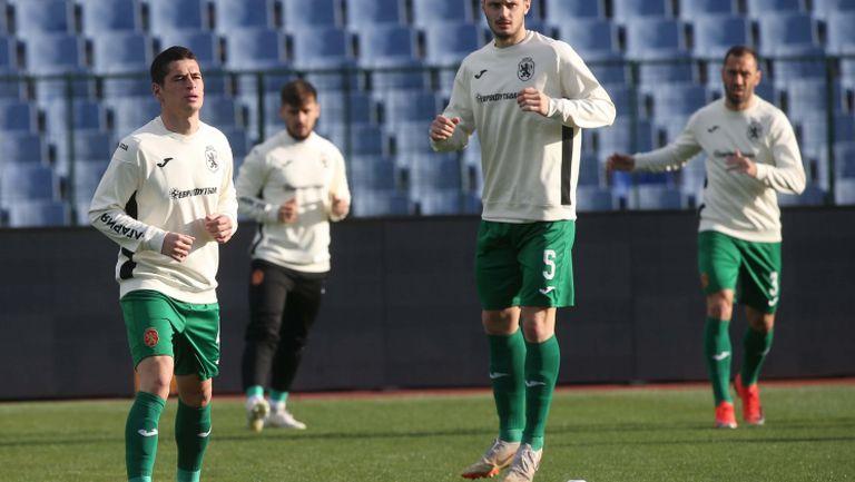България и Беларус се готвят за приятелския мач