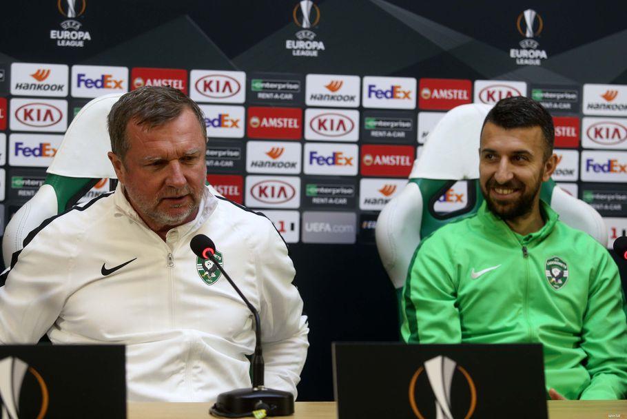 Пресконференция на Лудогорец преди мача срещу Интер