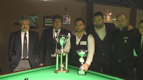 Никола Кемилев спечели републиканското първенство по снукър
