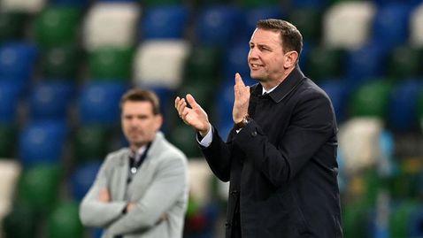 Селекционерът на Северна Ирландия: Не вярвам българите да идват тук, за да ни дадат лесно мача