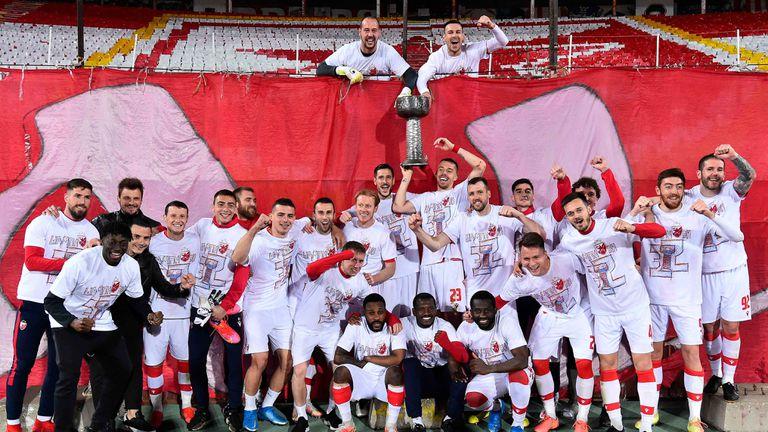Цървена звезда отново е шампион на Сърбия