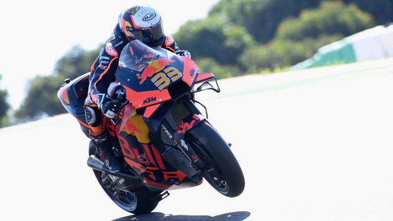 KTMс топ време на старта на уикенда за ГП на Испания в MotoGP