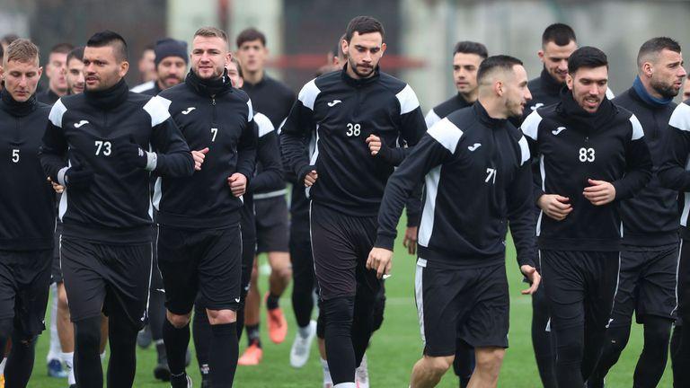 Осем футболисти са с несигурно бъдеще в Славия