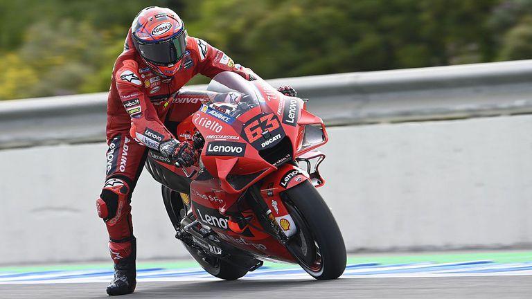 Баная поведе след втората тренировка за ГП на Испания в MotoGP