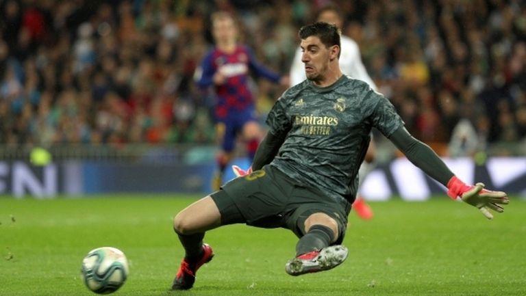 Куртоа продължава да печели мачове за Реал Мадрид