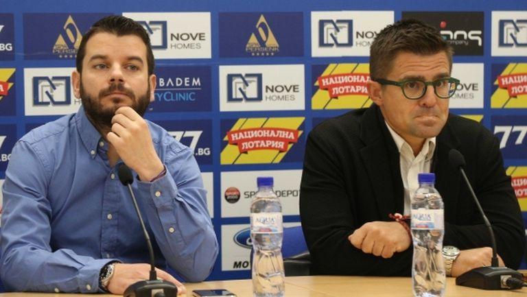Иван и Андрей опростиха 60 000 лв. на Левски, обясниха защо са дали заем от 100 000 лева (видео)