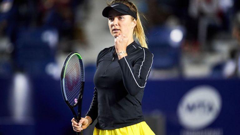 Свитолина на четвъртфинал в Монтерей след лесна победа