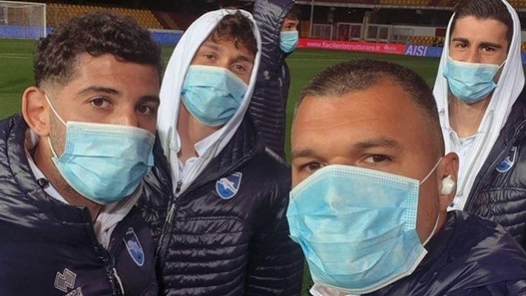 Божинов и компания с маски срещу Беневенто