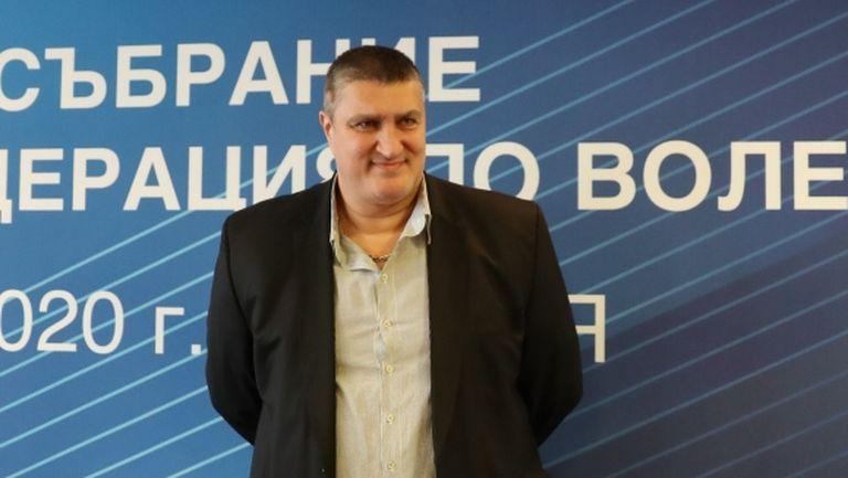 Любо Ганев е новият президент на БФ Волейбол (видео + галерия)