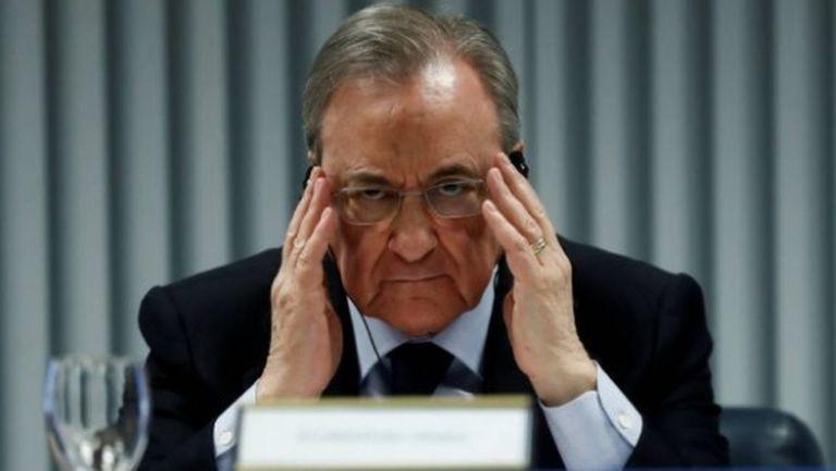 Заразен с COVID-19 бил на среща с Флорентино Перес и шефове на Барса