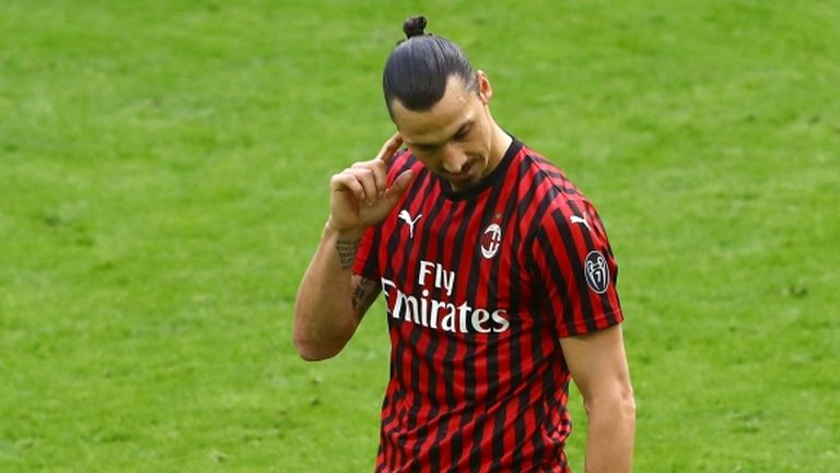 Таванът на заплатите в Милан може да доведе до раздяла с Ибрахимович